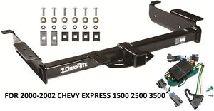 2000 2002 chevy express 1500 2500 3500 trailer hitch w. Black Bedroom Furniture Sets. Home Design Ideas