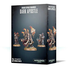 Chaos Space Marines Dark Apostle Games Workshop Warhammer 40k CSM Darkness