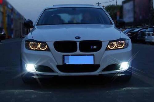 Fog lights H11 6000K Xenon White SMD 3030 LED Bulb Projector Lens Lamp Lamp W1 E