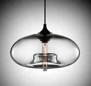Antique diy ceiling lamp crystal clear glass cover pendant - Diy ceiling light cover ...