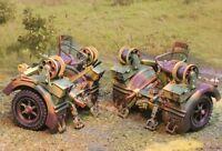 The Collectors Showcase Ww2 German Cs00519 88mm Anti Tank Gun Caisson