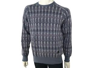 Details about New Authentic Louis Vuitton Men\u0027s Clothing Jacquard Crewneck  Sweater XL A254
