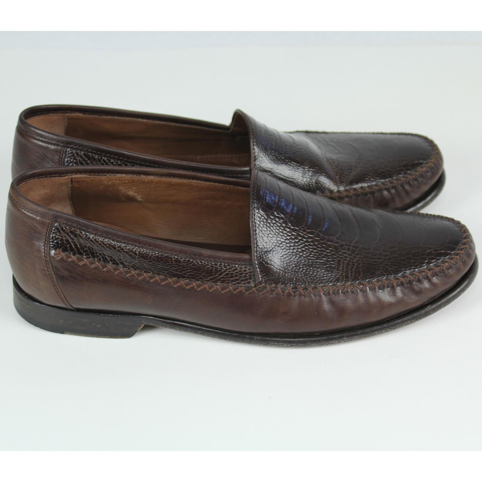 outlet online economico Johnston & Murphy Murphy Murphy Uomo Boval Venetian Slip-on Dress scarpe Sz 10.5 10 1 2 EUC  160  in vendita online