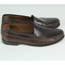 Johnston & Murphy Men Boval Venetian Slip-on Dress Shoe Sz 10.5 10 1/2 EUC $160