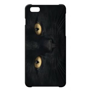 Dettagli su Cover Case Custodia Apple iPhone Gatto Nero