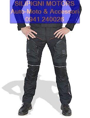Affidabile Jollisport Double-j Pantaloni Moto 4 Stagioni Estate+inverno Areati Termici Prestazioni Affidabili