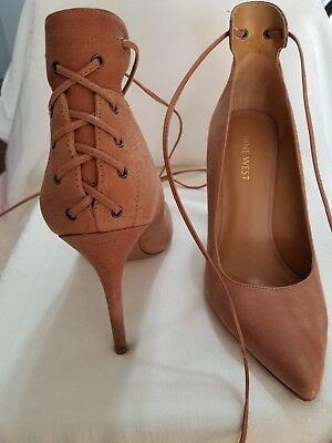 Nine West Women/'s Abander Leather Pump