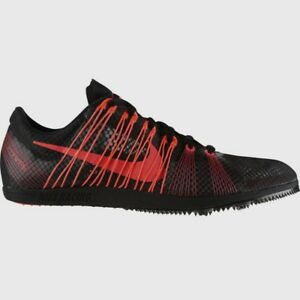 7409b65496a6 NIKE Zoom Matumbo 2 Black Red Mid Distance Track Spikes Shoes New ...