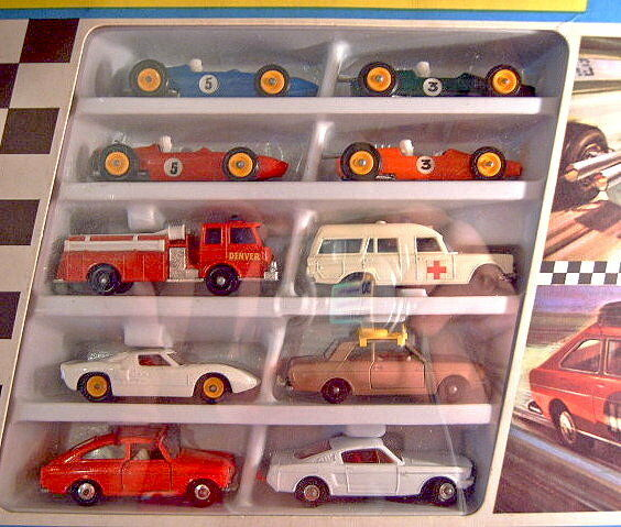 Matchbox Giftset G-4  Race'n'Rally Set    1968 e3f787