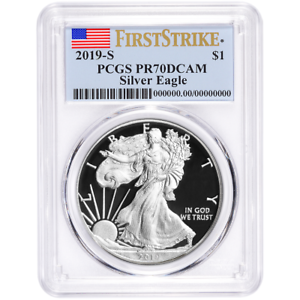 2019-S-Proof-1-American-Silver-Eagle-PCGS-PR70DCAM-First-Strike-Flag-Label