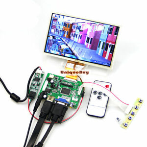 DIY-Monitor-For-Raspberry-Pi-HDMI-VGA-2AV-Lcd-Driver-7-034-AT070TN90-Touch-Screen