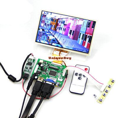"HDMI+VGA+2AV Lcd Driver+7/"" AT070TN92+Touch Screen Diy Monitor for Raspberry Pi-"