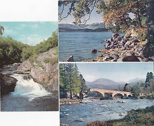 Three Topographical Postcards from Scotland - Wigton, United Kingdom - Three Topographical Postcards from Scotland - Wigton, United Kingdom