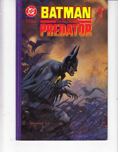 BATMAN-vs-PREDATOR-1-fine-Prestige-Arther-Suydam-1991-Adam-Kubert