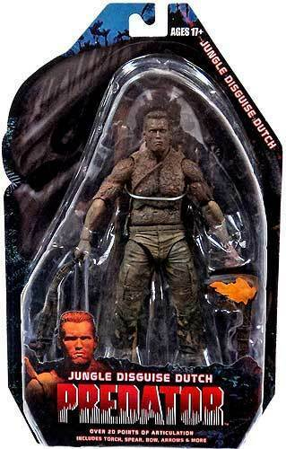NECA PREDATOR SERIES 9  7  JUNGLE DISGUISE DUTCH  COLLECTIBLE   BRAND NEW