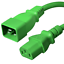 C20 to C13 Power Cord IBX-4924 IEC 60320 15A//250V 14 AWG
