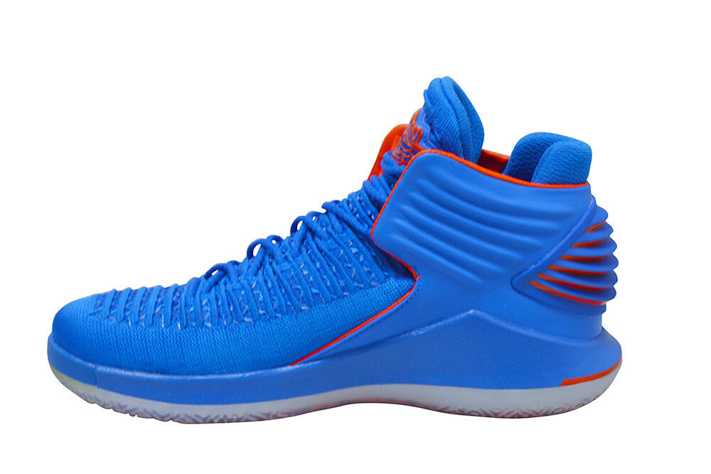 Air Herren Nike Air  Jordan XXXII RARE  - AA1253400 - Signal Blau Team Orange a1d3ef