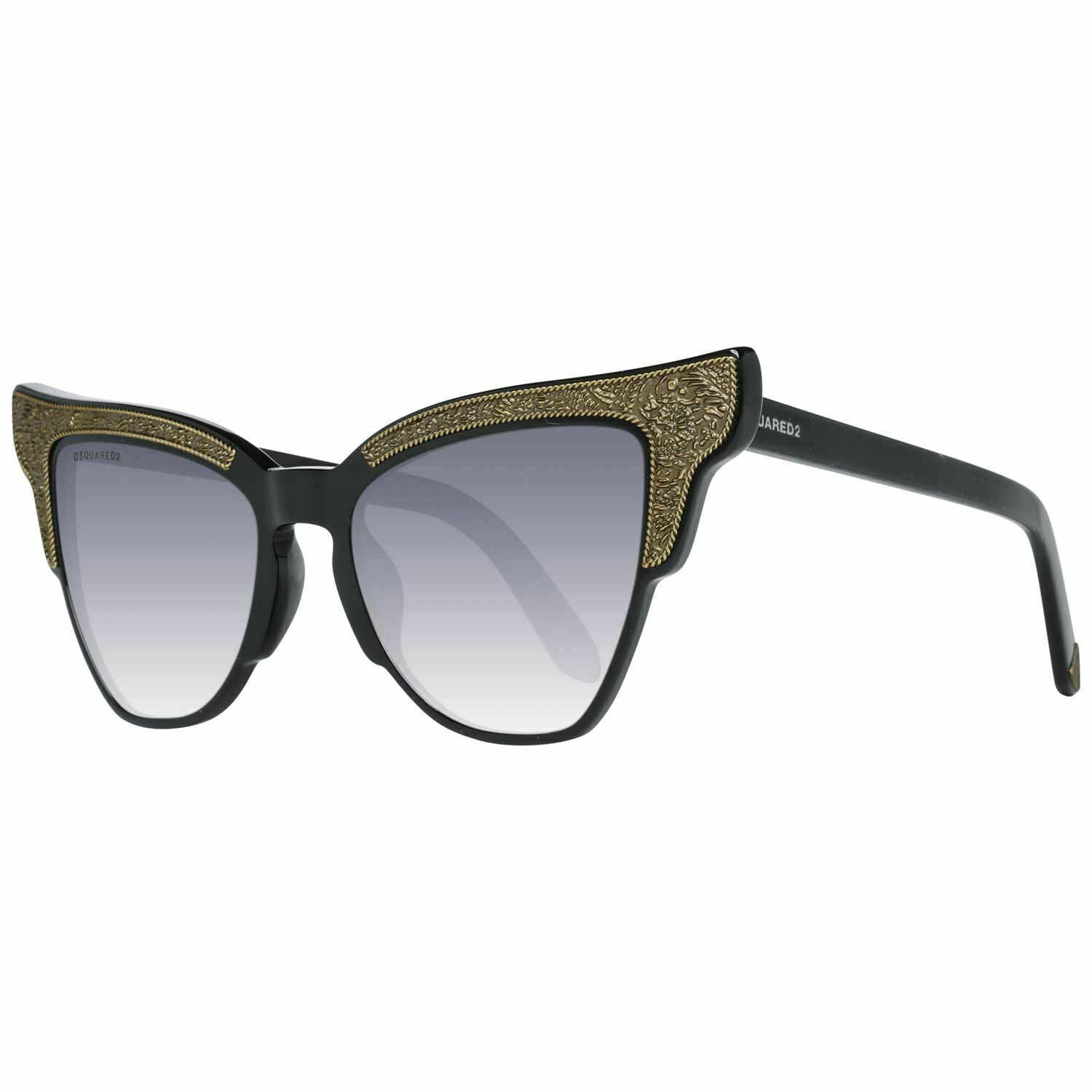 Dsquared2 DQ0314 Women Black Sunglasses Plastic Embroidery Butterfly Eyeglasse