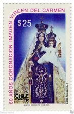 Chile 1986 #1207 60 años Coronacion imagen Virgen del Carmen MNH