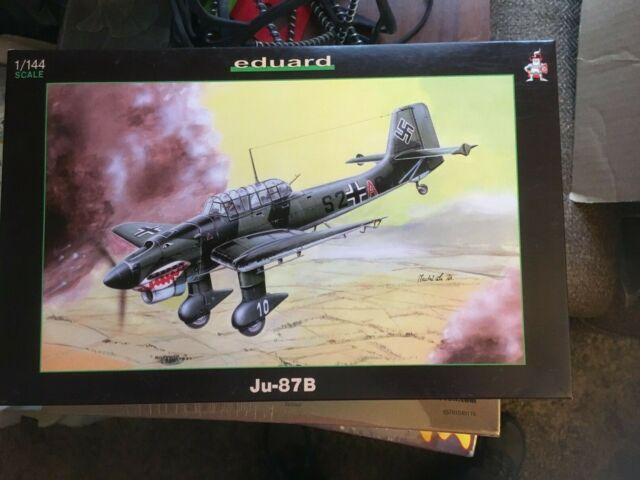 4414 eduard 1/144 Junkers Ju 87 B stuka model kit new photo etched parts 2 pack