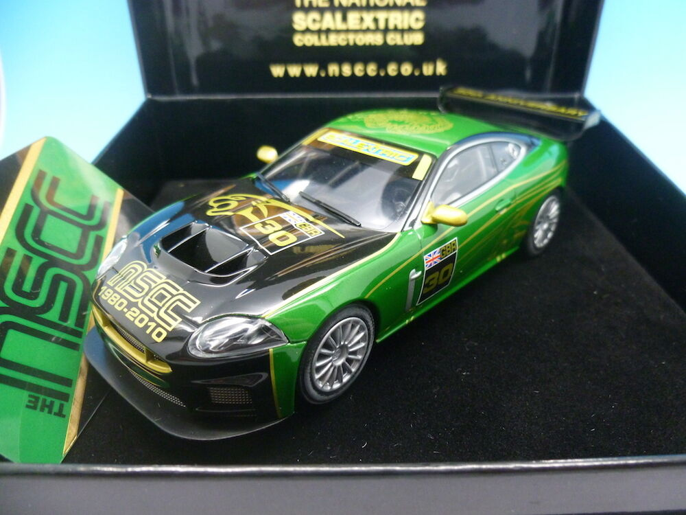 Scalextric nscc jaguar xkr C3144 limited edition 750