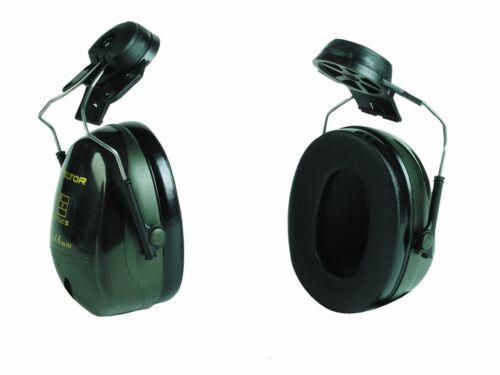 3M H520P3E Peltor Optime 2 Helmet Mounted Ear Muffs Hearing Protection SNR= 30dB