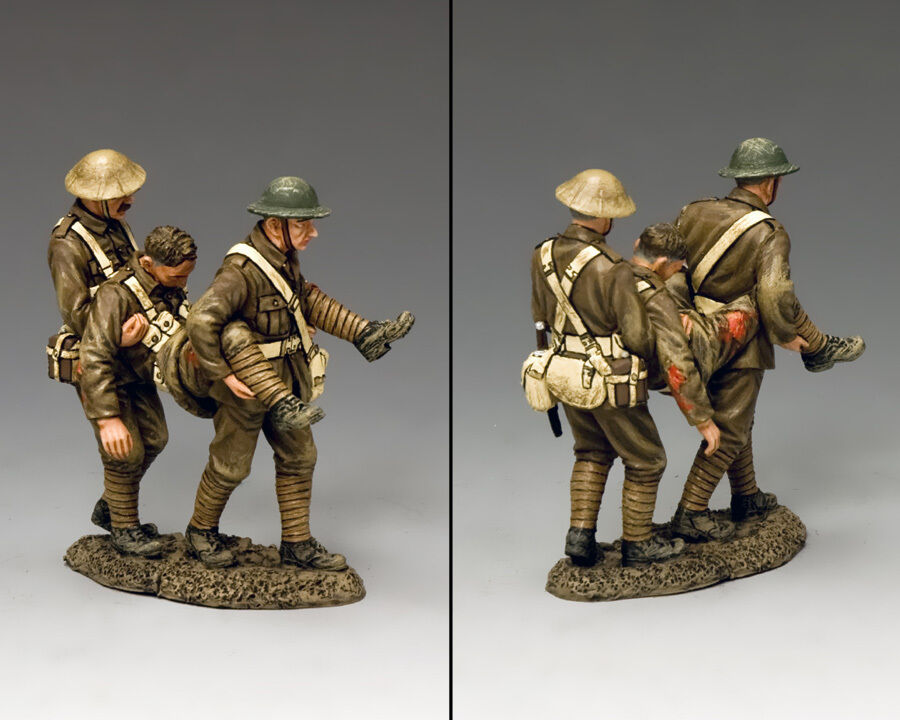 KING AND COUNTRY WW1 Hold On Son, We're Almost There  FW163
