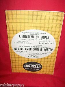 DORELLI-Suonatemi-un-Blues-Film-Il-mio-corpo-ti-appertiene-OST-Spartiti-1956