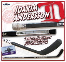 JOAKIM ANDERSSON Game Used Stick DETROIT RED WINGS Reebok SICKICK 20K