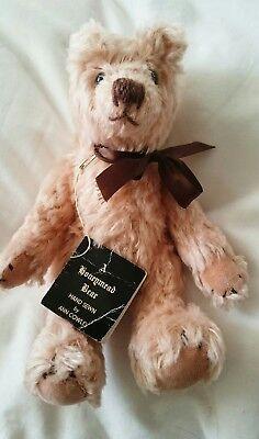 Dolls & Bears Lovely Honeymead Collectable Bear By Ann Cowley Clear-Cut Texture