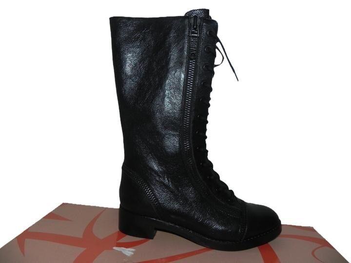 Via Spiga Gwendolyn Black Boots Size 6.5M Retail  375