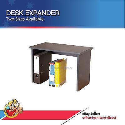 Desk Storage Shelf Expander, Office Desk Accessory Tidy Folder, Binder Filing