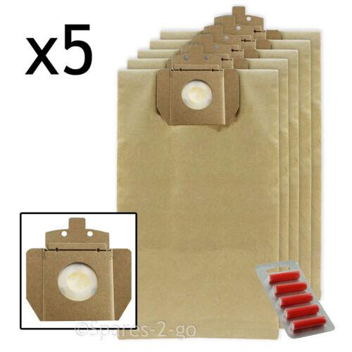 Fresh 5 x Vacuum Cleaner Dust Bag For TASKI Vento 8 Hoover Bag