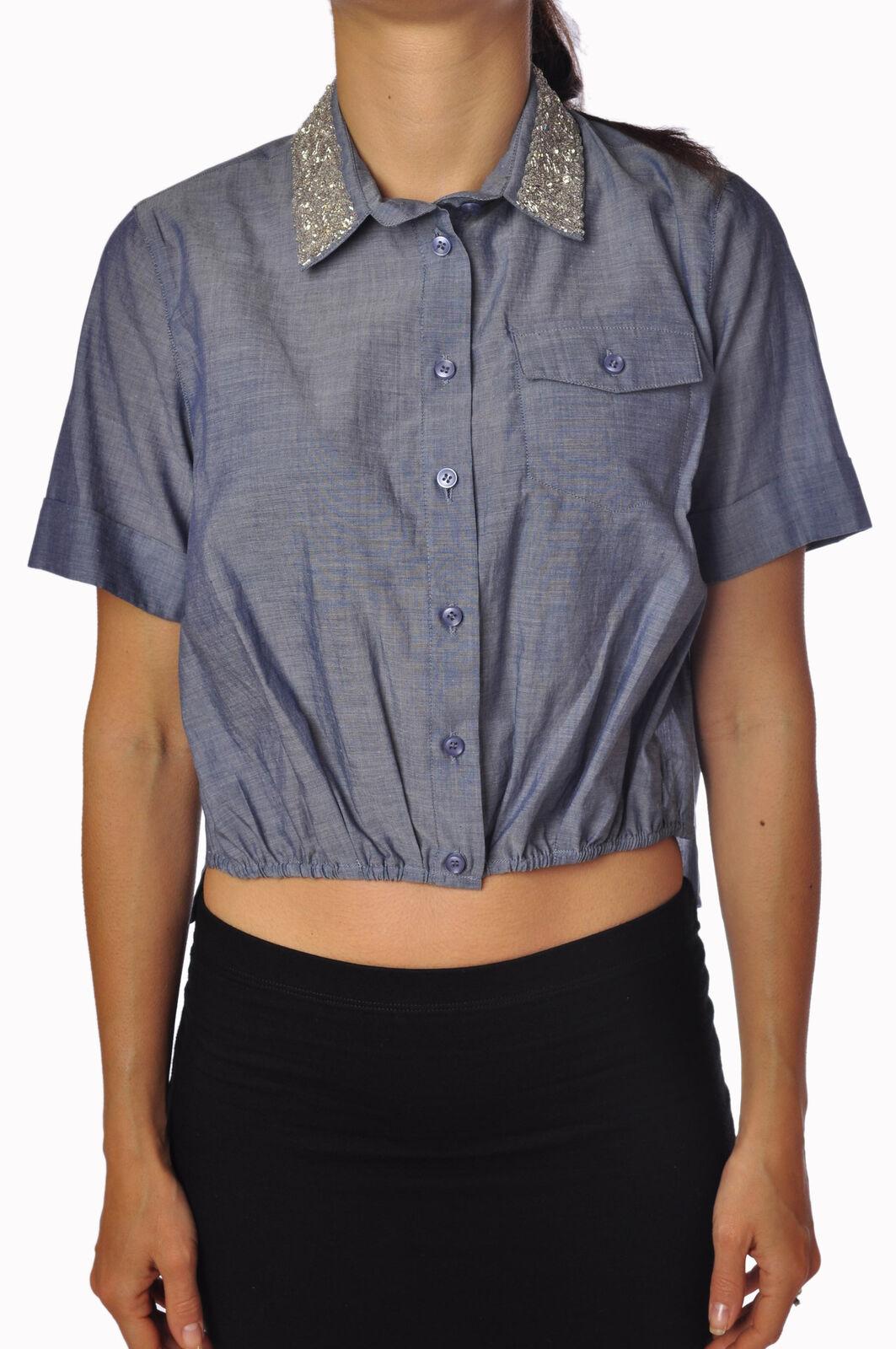 Liu-Jo - Blausen-Shirt - frau - Blau - 789317C184803