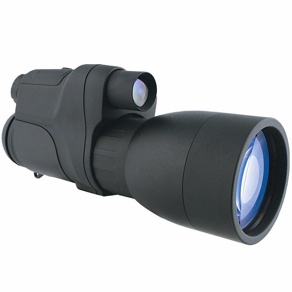 Yukon NV 5x60 Gen 1 Night Vision Infrared Scope Wild Life Study Army Monocular