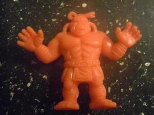 M-U-S-C-L-E-Y-SNT-Kinnikuman-Salmon-165-Black-Zumou-Figure-Class-A-Wrestler-VGC