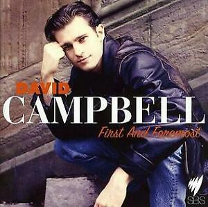 David-Campbell-First-And-Foremost-CD-Universal-2008-USED