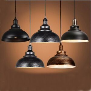 Vintage-Industrial-Metal-Retro-Ceiling-Hanging-Light-Pendant-Lamp-Chandelier