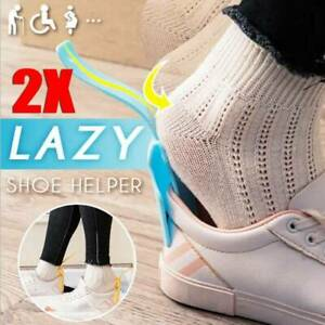 2x-Wear-Shoe-Horn-Helper-Shoehorn-Shoe-Easy-on-and-off-Shoe-Sturdy-Slip-Aid-Hot