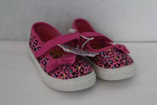 NEW Toddler Girls Tennis Shoes Size 7 Pink PAW PATROL Mary Janes Leopard Print