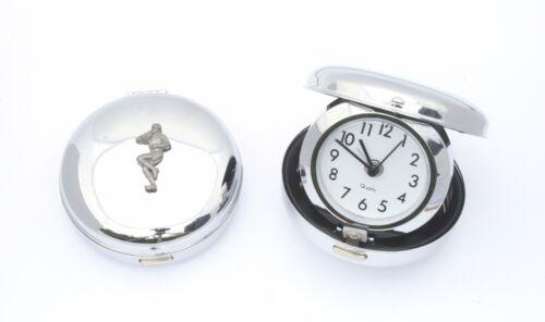 Rugby Player Flip Up Desktop Alarm Clock Ideal Rugby Gift