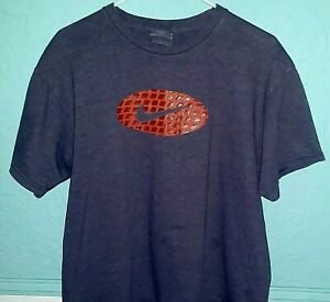 dacd718605306 Details about 90's Vintage Nike Gray and Orange 3-D Cubes Swoosh  T-Shirt-Medium-Made in Mexico