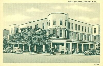 Corinth,MS. The Hotel Waldron