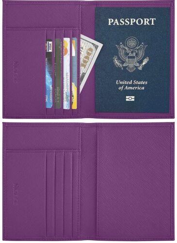 Simpac RFID Blocking Passport Holder, Passport Wallet, Travel Wallet, Passport
