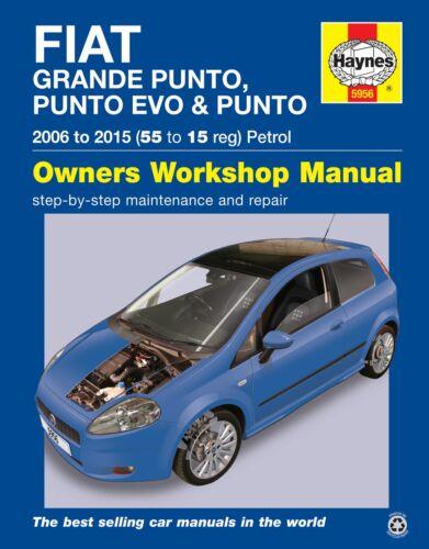 Fiat grande punto evo repair manual haynes manuel service manual 2006-2015