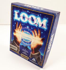 LOOM-LucasFilm-Games-Macintosh-3-5-034-Floppy-Disk-Apple-MAC-Big-Box-Game-CAS-CIB