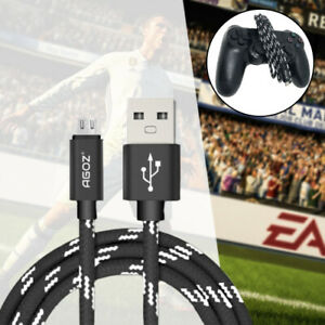 Micro-USB-FAST-Charger-Cable-for-PlayStation-4-slim-PS4-Dualshock-Controllers