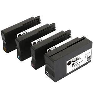 4Pack-for-HP-950XL-951XL-Ink-Cartridge-New-Version-Chip-OfficeJet-Pro-8100-8600