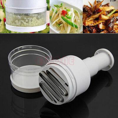 Multifunctional Kitchen Onion Garlic Slicer Peeler Chopper Vegetable Shredder