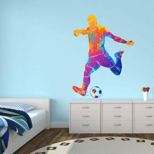 111 murales fútbol jugador multicolor Nikima